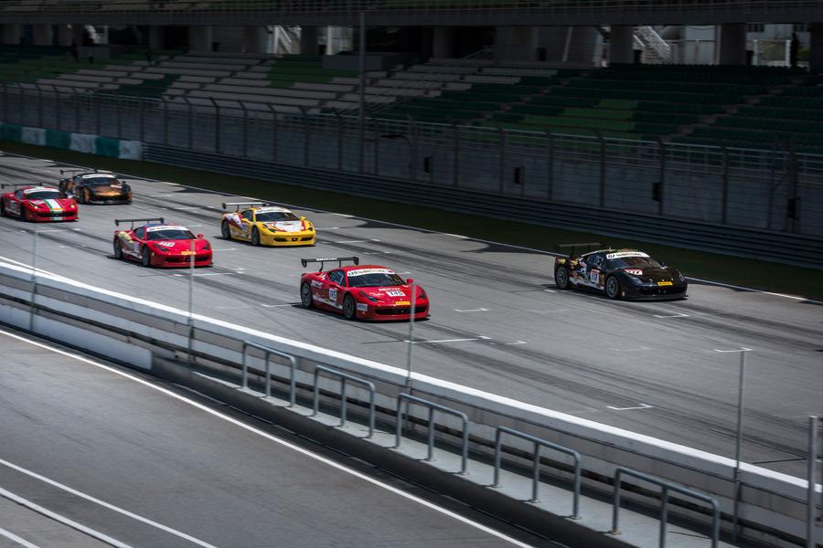 Ferrari Challenge Sepang