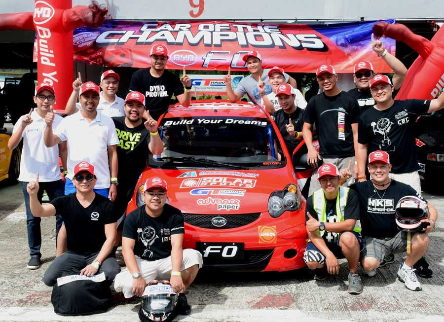 BYD F0 serves as official spec car for the 2014 Challenge of Champions
