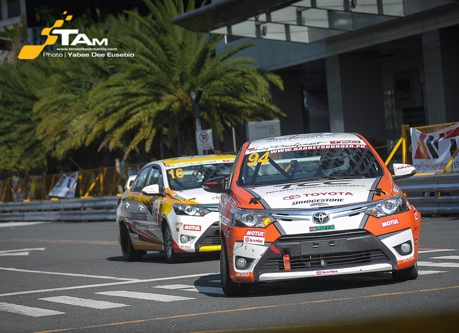 Ali Salvador claims 2nd place for TSF/TCC at the 2015 Vios Cup Rd 3