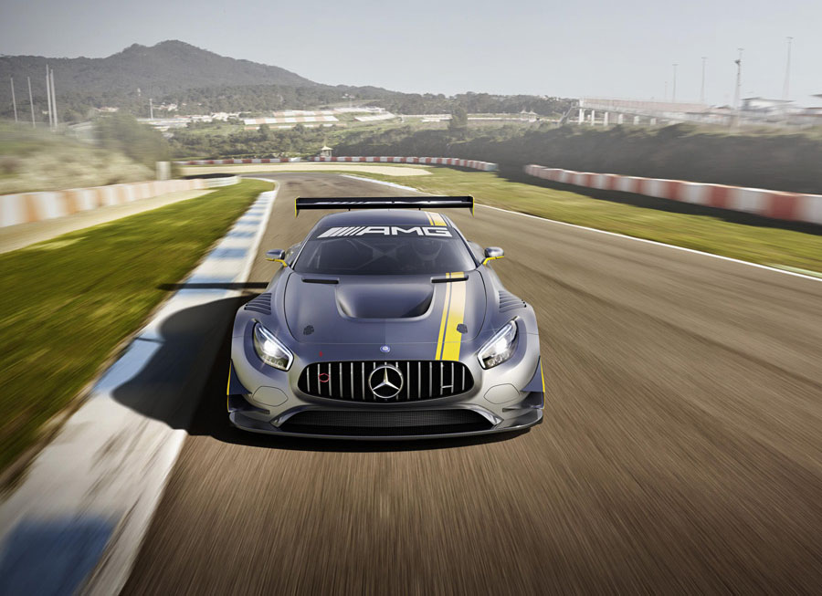 Meet the SLS AMG's track replacement, the Mercedes-AMG GT3