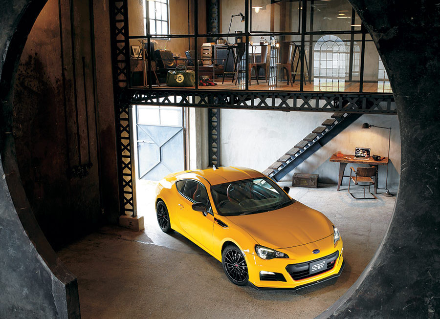 Japan gets first dibs on the new Subaru BRZ tS from STI