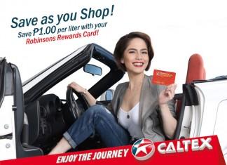 Caltex Robinsons Rewards Card