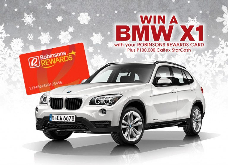 Win a BMW X1 and P100,000 of fuel from Caltex