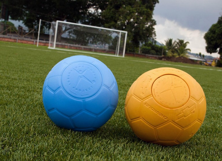 Chevrolet Ph donates 17,000 One World Futbols to help youth