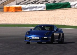 Chris Harris toys with the new Porsche Cayman GT4