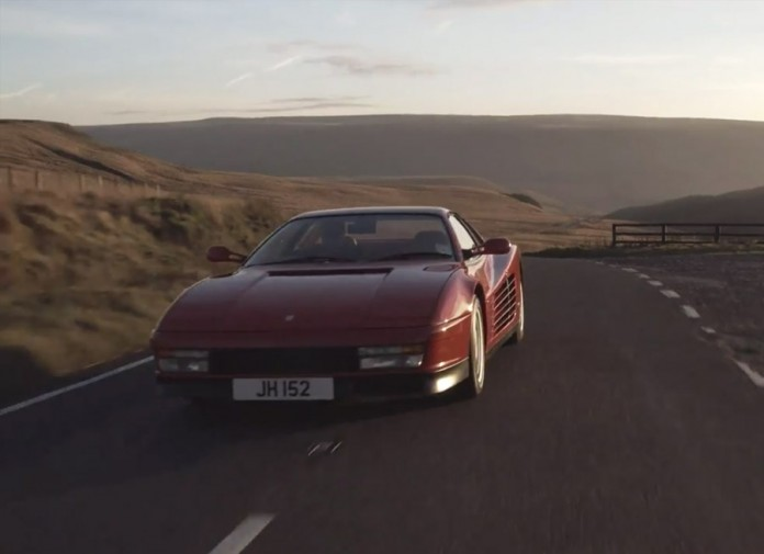 /DRIVE pays tribute to an '80s icon, the Ferrari Testarossa