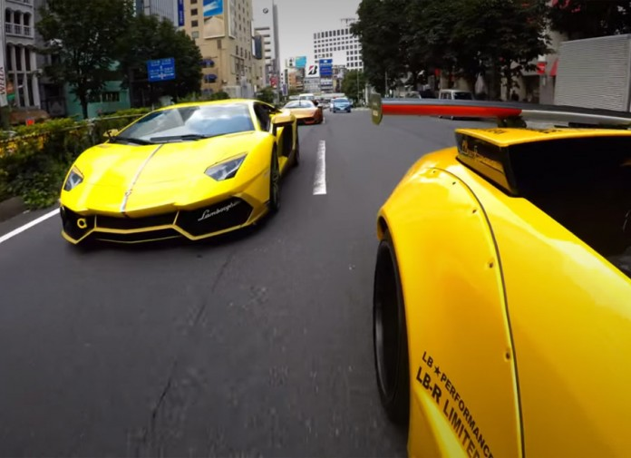 GoPro HERO4 explores a different side of Japanese car culture