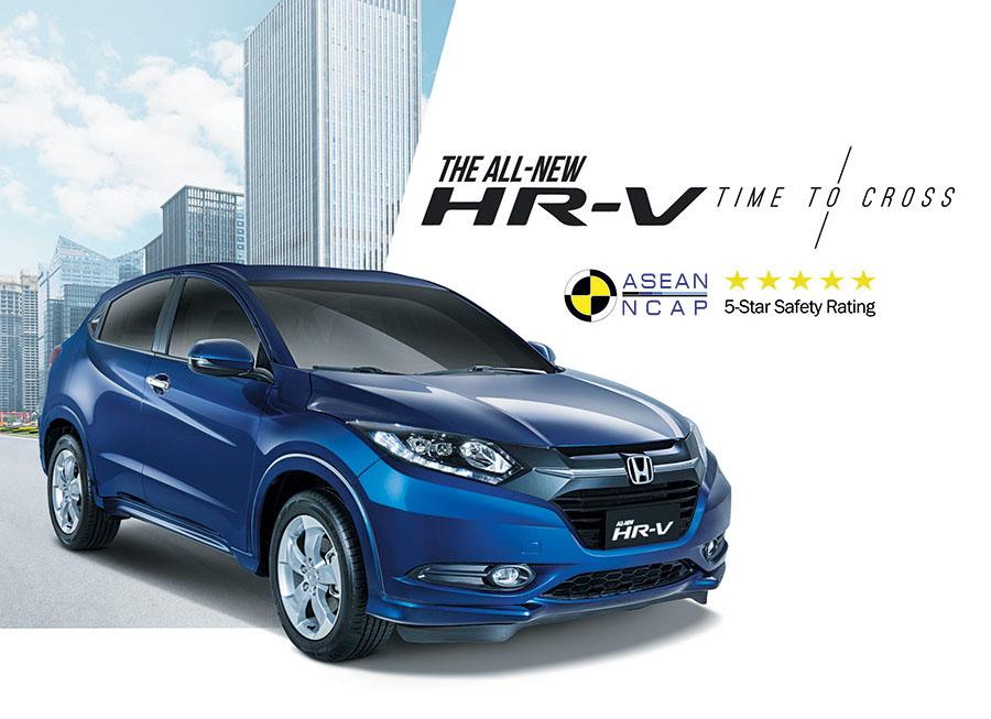 ASEAN NCAP stamps Honda HR-V with full 5-star rating