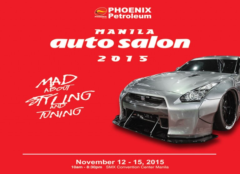 The 2015 Manila Auto Salon is happening this November