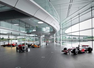 Google puts McLaren's Technology Centre on Street View