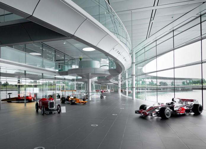 Google puts McLaren's Technology Centre on Street View