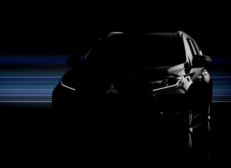Mitsubishi teases this lone photo of all-new 2017 Montero Sport