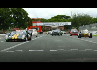 Racing historics with the Manila Sports Car Club