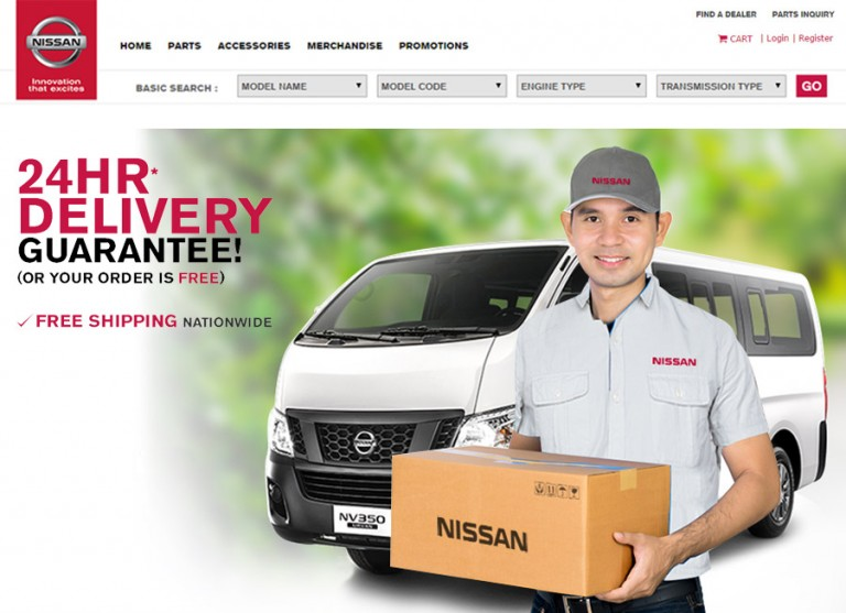 NissanParts.Ph now lets you buy genuine Nissan parts online