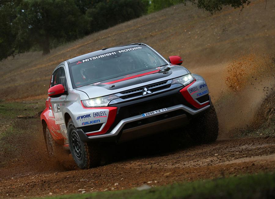 Mitsubishi to suit up Outlander PHEV for Baja Portalegre 500