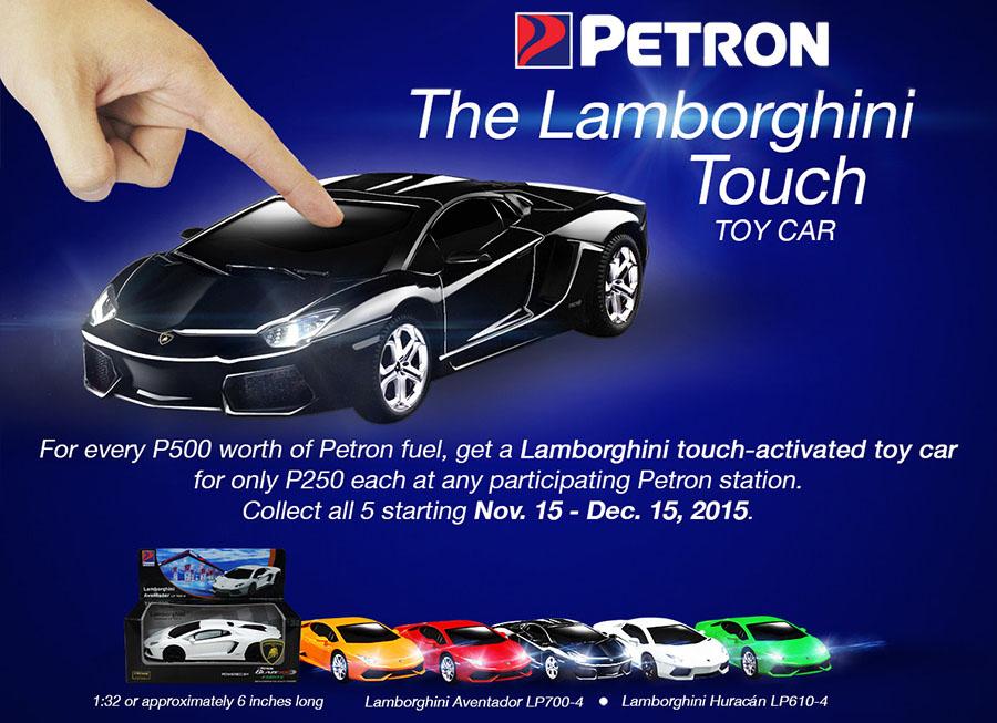 Petron Lamborghini Touch