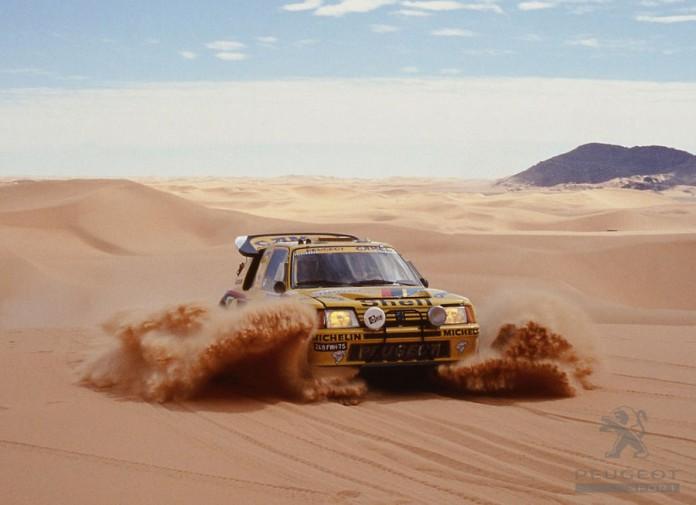 Peugeot Dakar Rally