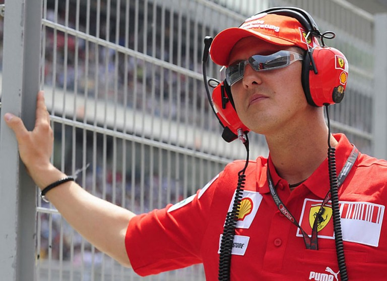 Ferrari offers silent vigil for Schumacher's 45th birthday