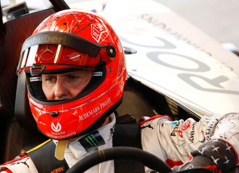 Doctors report Schumacher's condition show some improvement