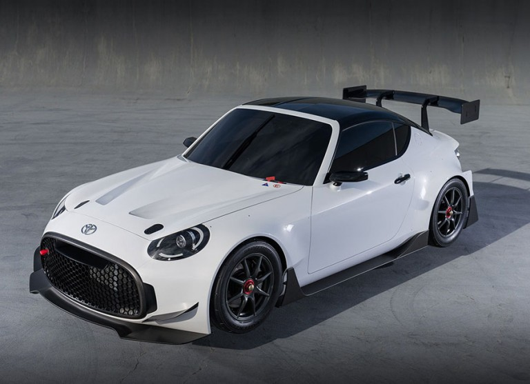 GAZOO's S-FR Racing Concept is a little, mean racing machine