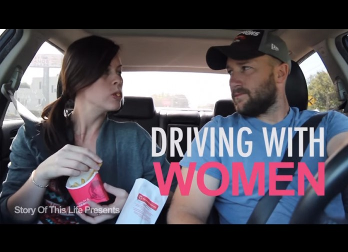 What's it like to drive around with women