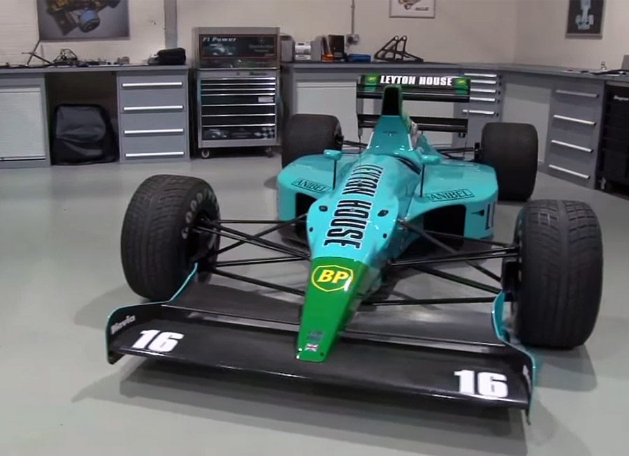 How hard is it to start a '90s-era Formula 1 car?