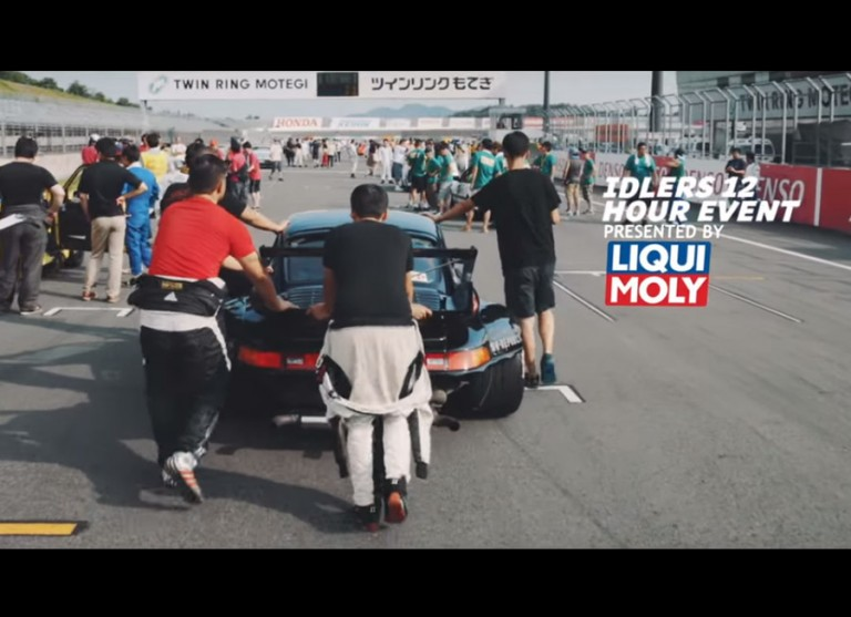 RWB Porsches go out to play at the Idlers 12hr Enduro