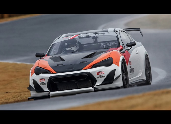TRD's 86 Griffon Concept break the sub-minute barrier at Tsukuba