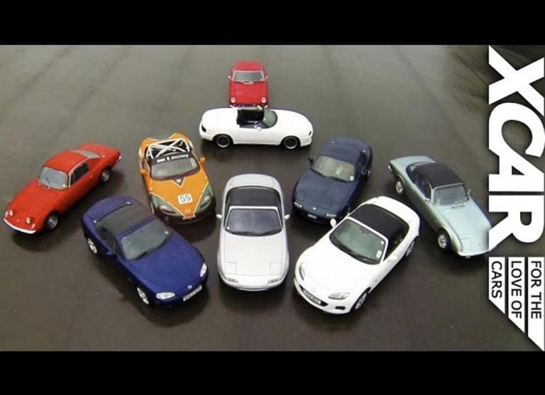 XCAR explores a quarter century of fun with the Mazda Miata
