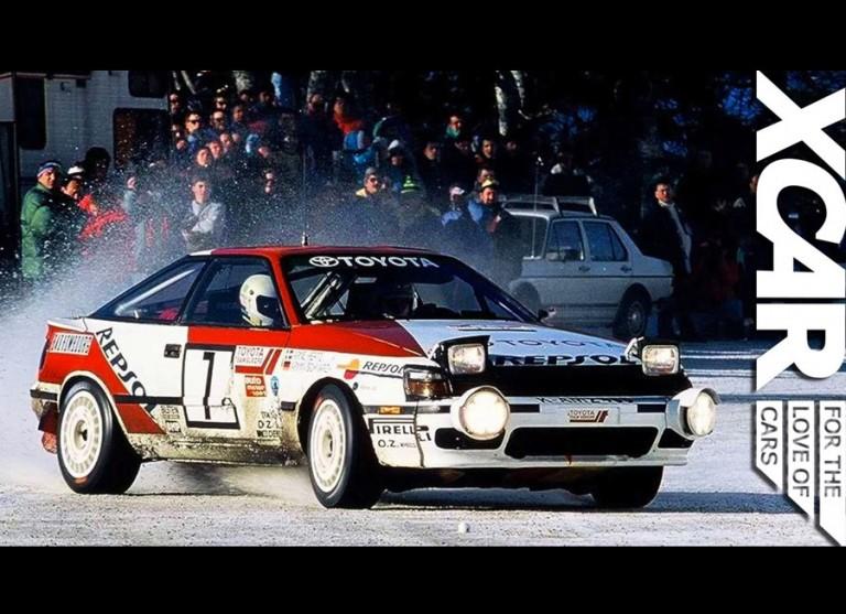 XCAR explores Toyota's secret collection of race legends
