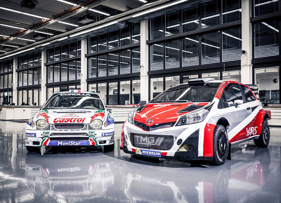 Toyota confirms return to the WRC in 2017