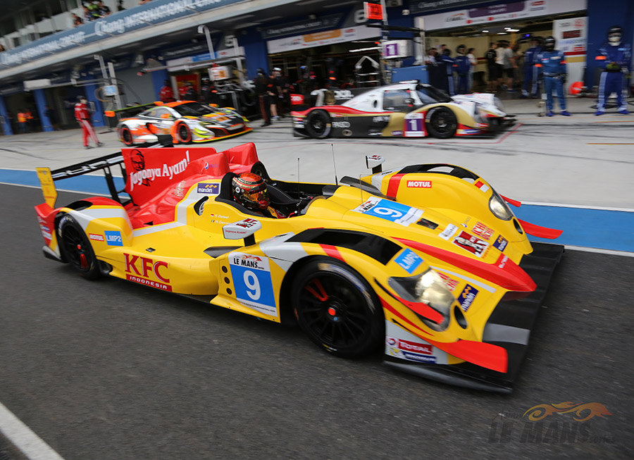 Eurasia Motorsport wins Asian Le Mans Series' 3 Hrs of Thailand