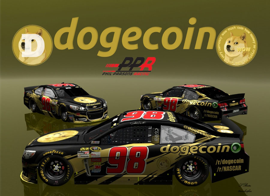 Reddit successfully funds Doge to race in NASCAR