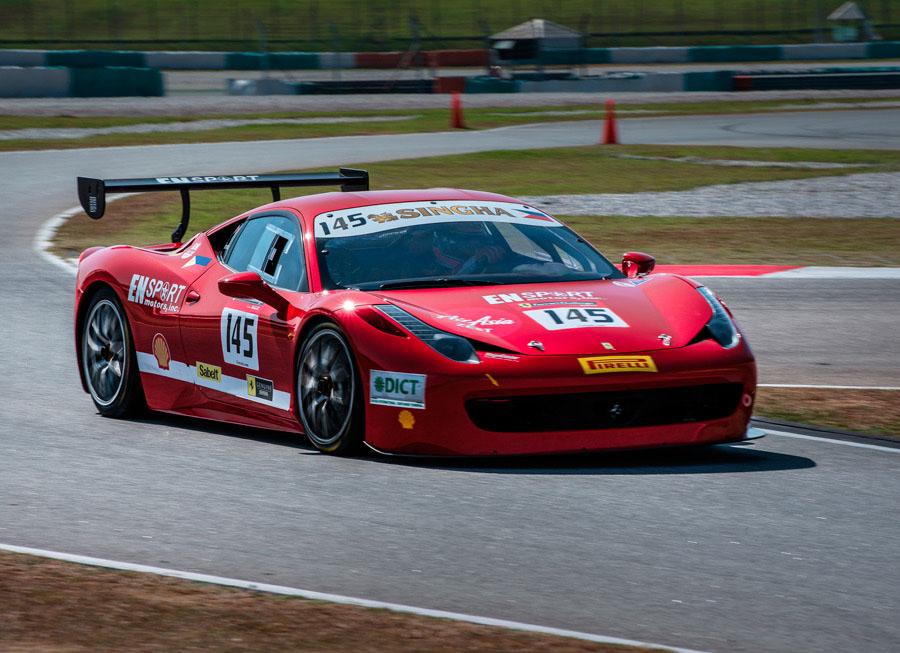 Vincent Floirendo reviews first Ferrari Challenge race in Sepang