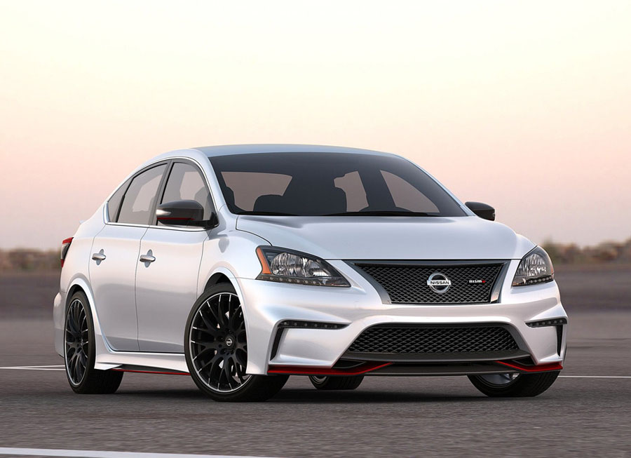 Nissan's Sentra NISMO Concept is not your grandma's sedan
