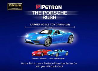Petron Porsche Rush