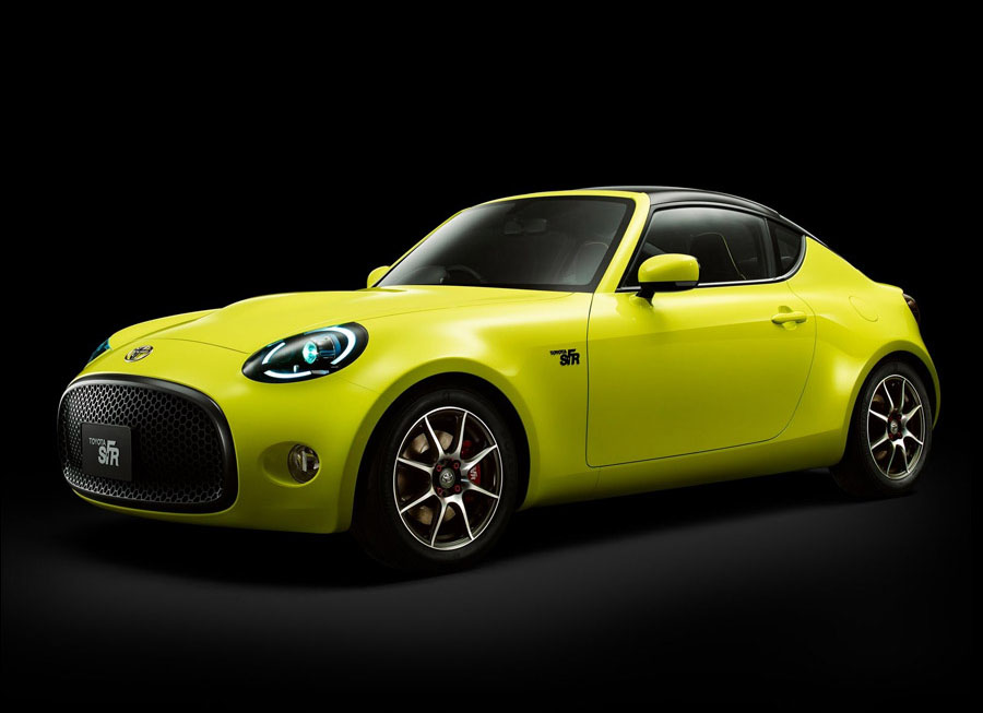 Toyota's S-FR Concept is yet another a cheaper, lighter RWD sports car