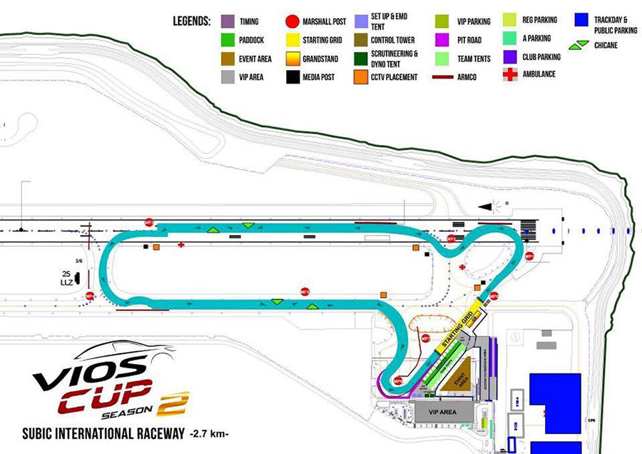 2015 Vios Cup Round 4 Track