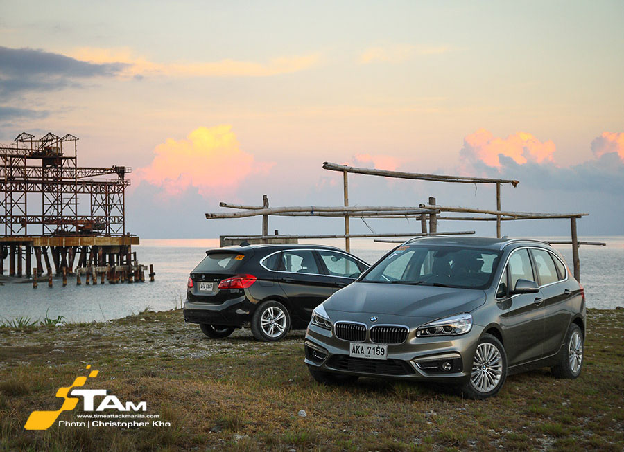BMW 2 Series Active Tourer cross-country road trip