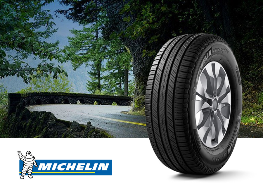 Michelin's new Primacy SUV tire promises smoother, safer drives