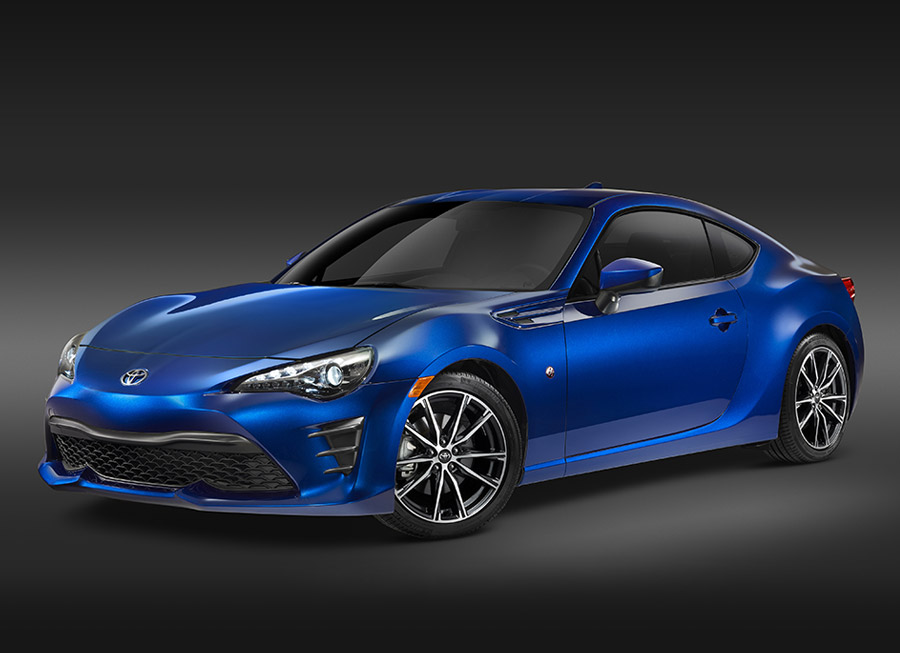 This is what the much-awaited 2017 Toyota 86 looks like