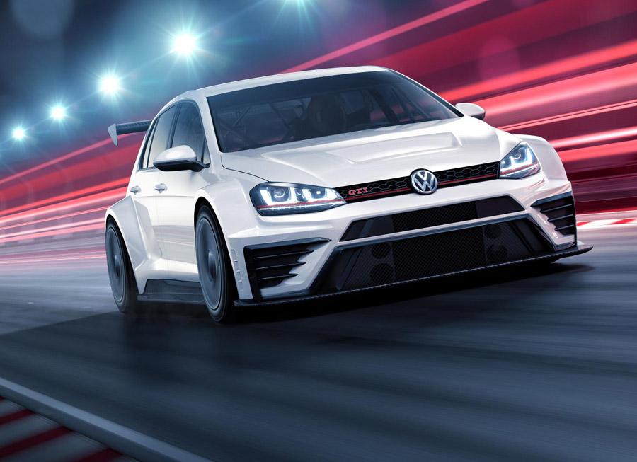 VW develops race-ready 325 hp Golf GTI for TCR Series