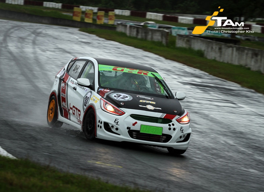 Yllana-GTR Racing tests Hyundai Accent CRDi for Philippine GT