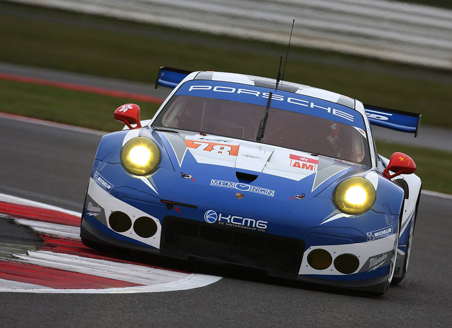Suspension failure robs KCMG of GTE Am win in 6 Hrs of Silverstone
