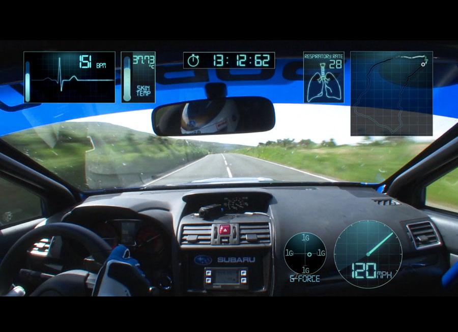 Subaru releases Mark Higgins' record-breaking Isle of Man lap