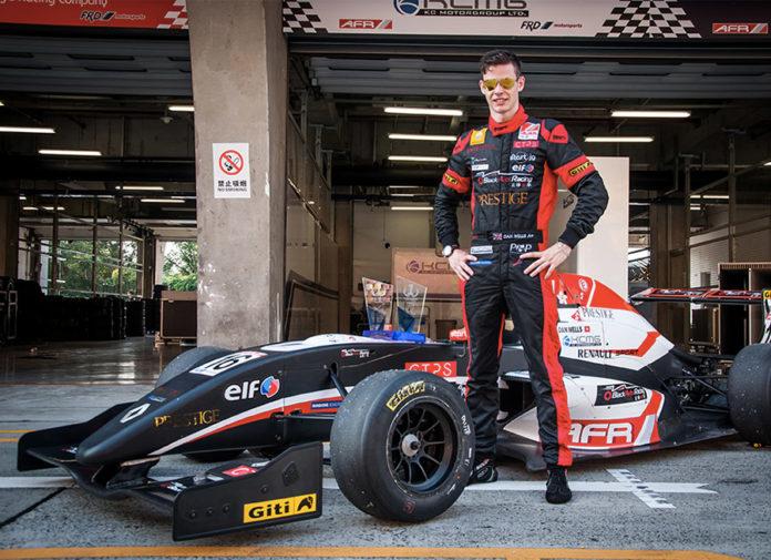 Dan Wells Asian Formula Renault