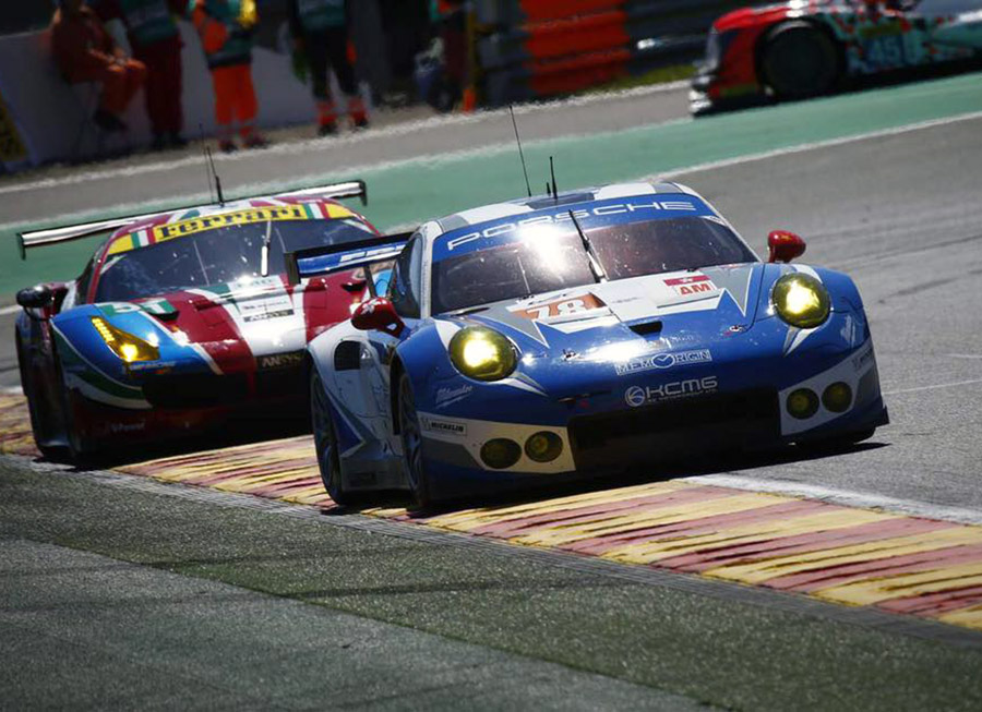 KCMG Highest Placed Porsche 911 RSR In GTE Am At 6 Hrs Of Spa