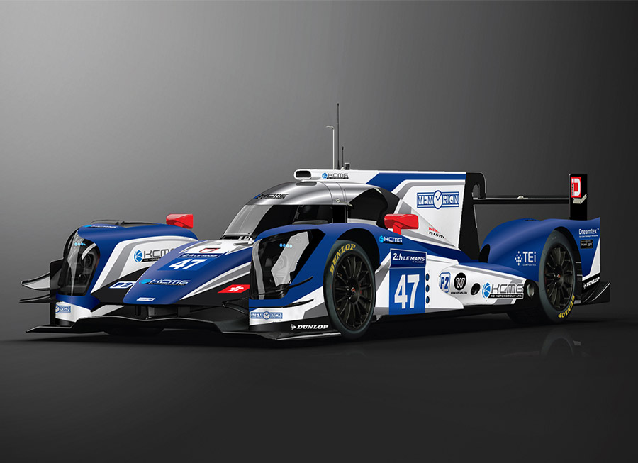 KCMG reveals their ORECA 05's new livery for the 24 Hours of Le Mans