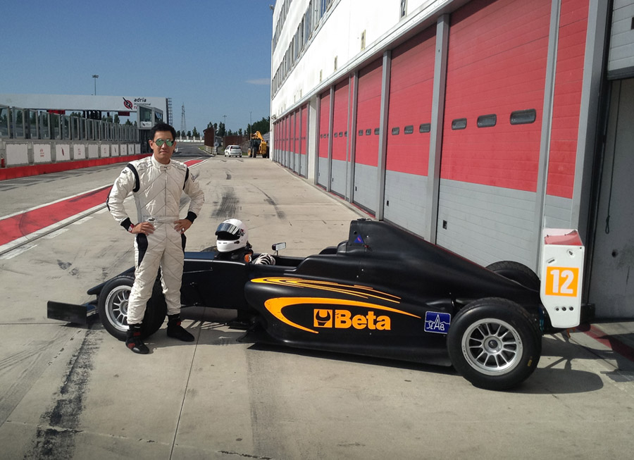 Milo Rivera gets positive results from Formula 4 test in Italy
