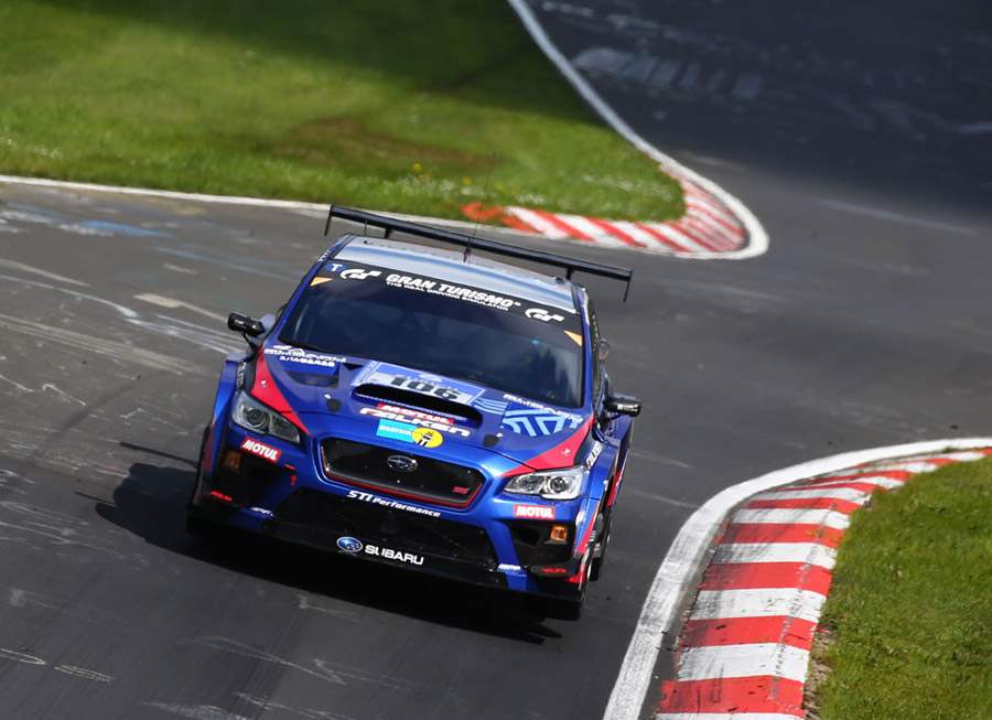 Subaru WRX STI wins SP3T Class in a very wet Nürburgring 24 Hrs